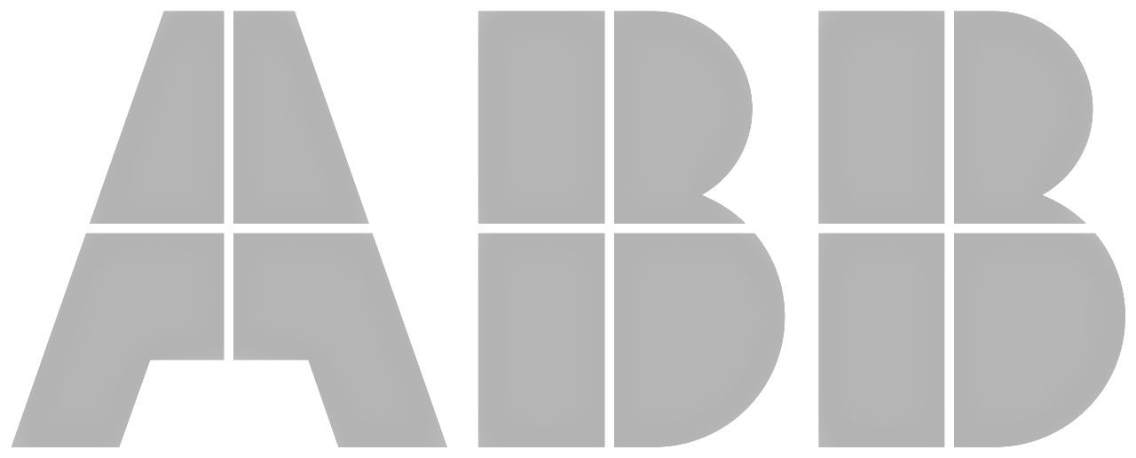 ABB Logo Grey